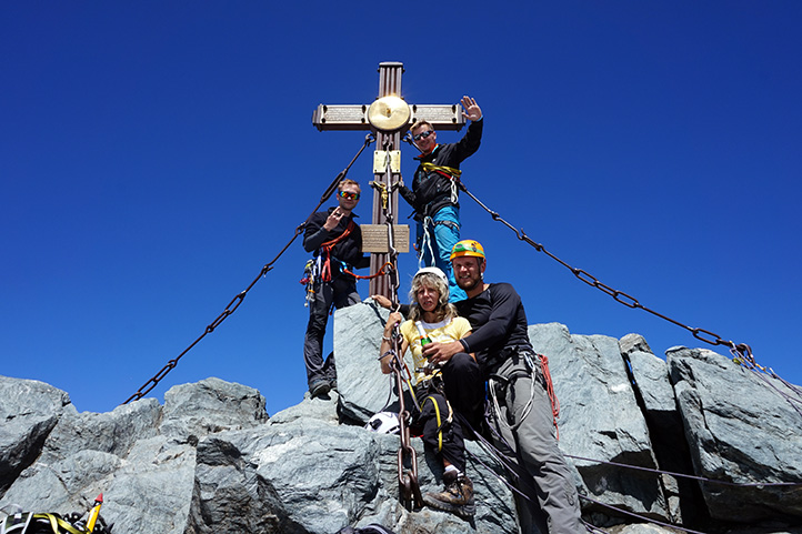 szczyt Großglockner, 3798 m n.p.m.
