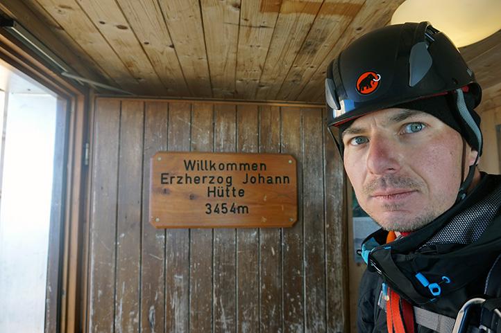 schronisko Erzherzog-Johann-Hutte (wysokość 3451 m)