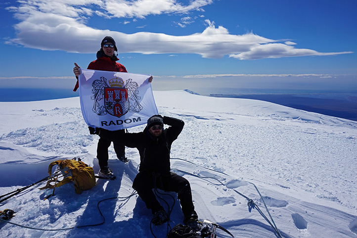 szczyt Hvannadalshnúkur 2109 m n.p.m.