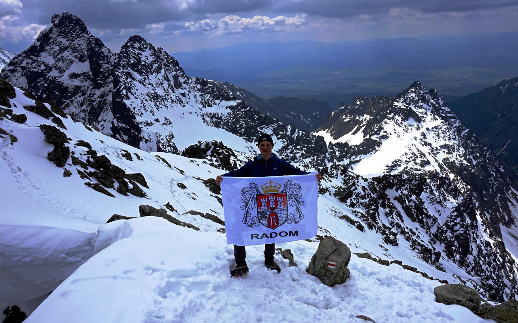 szczyt rysy 2499 m n.p.m.