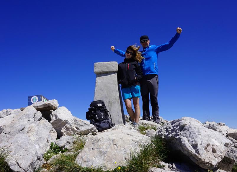 szczyt Vrh Dinara, 1831 metrów n.p.m.