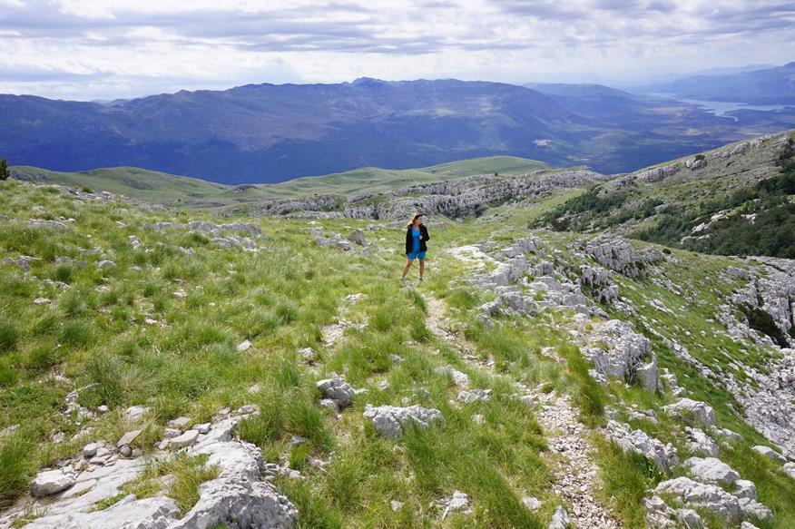 szlak na Vrh Dinara