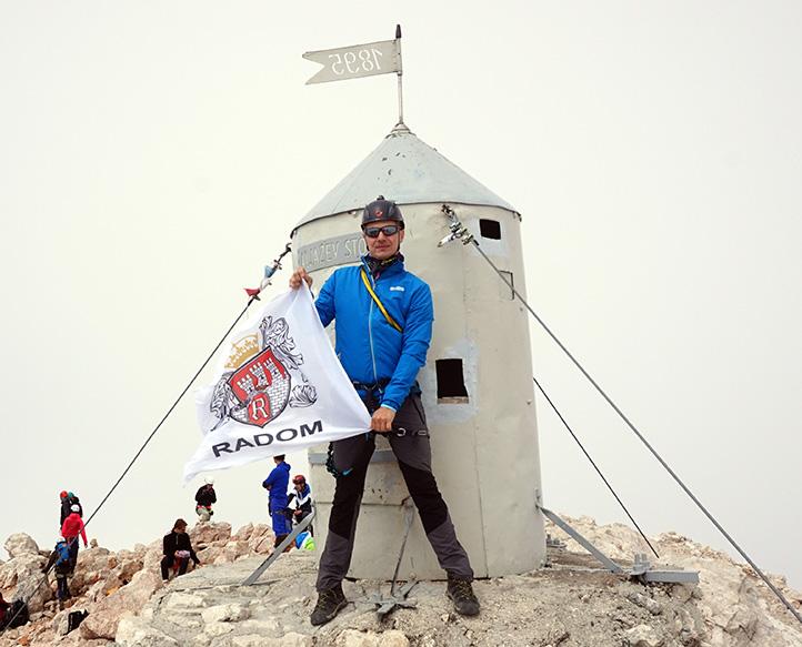 szczyt Triglav 2864 m n.p.m.