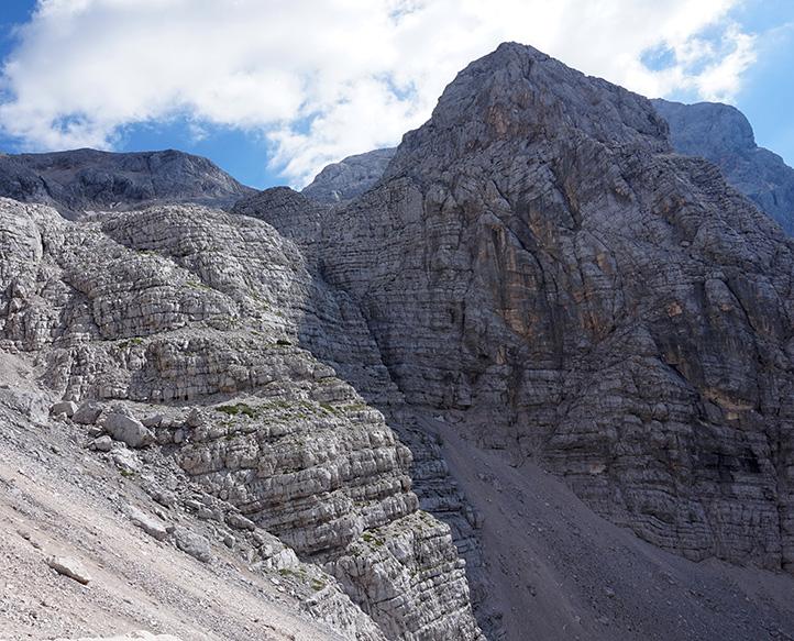 masyw Triglav, widok z doliny Vrata