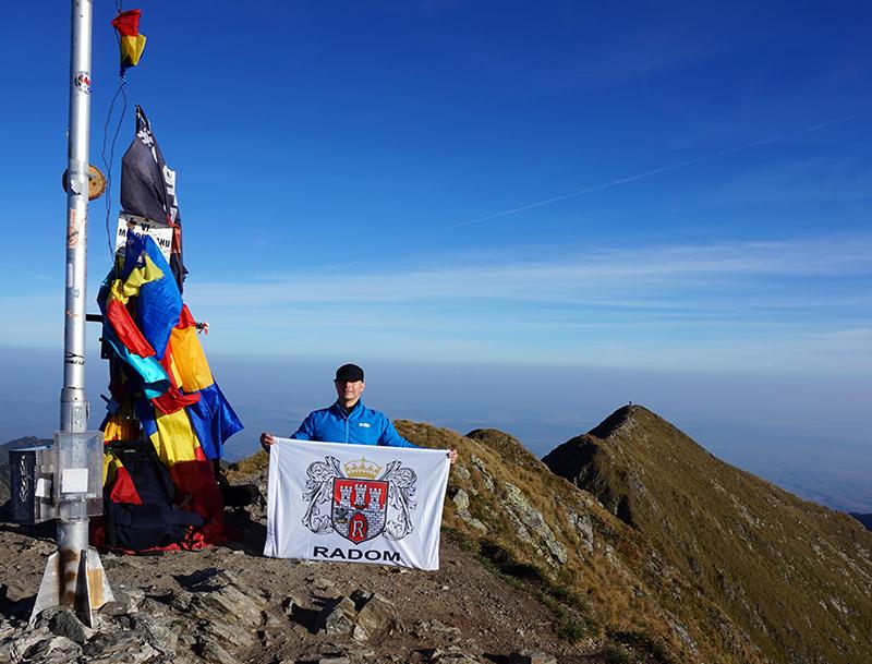 szczyt Moldoveanu 2544 m n.p.m.