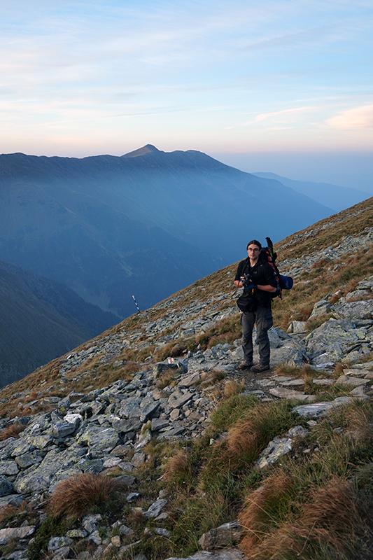Maciek w drodze na szczyt