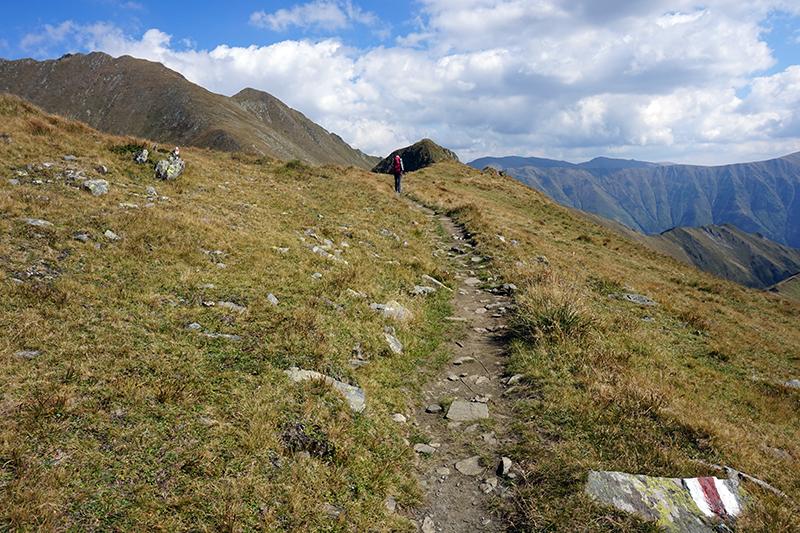 droga na górę Mircii