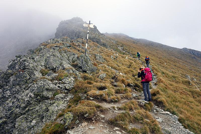 trawers góry Vârful Vânătarea lui Buteanu