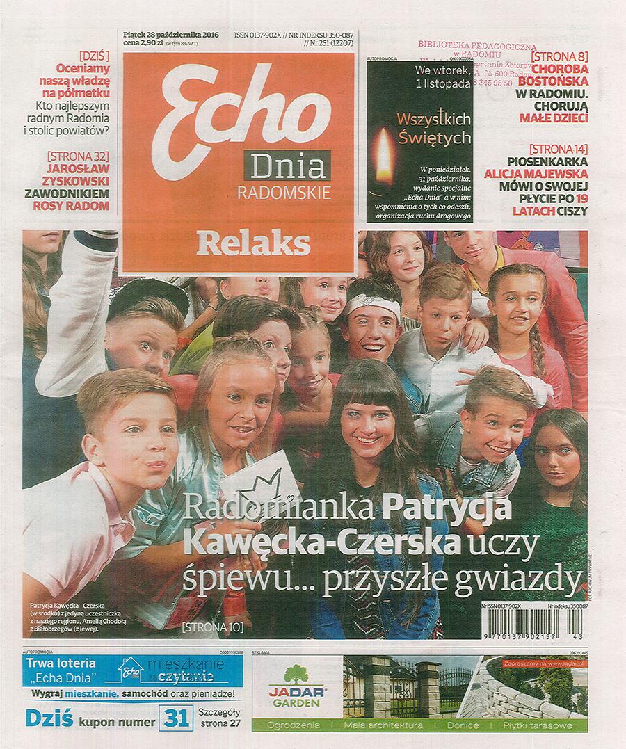 Echo Dnia, 28.10.2016