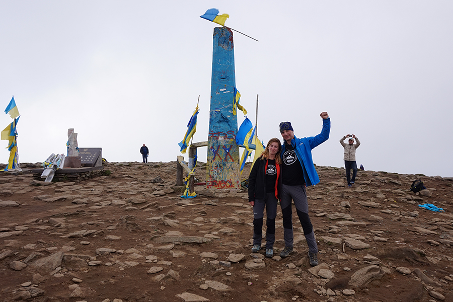 szczyt Howerla, 2061 m n.p.m.