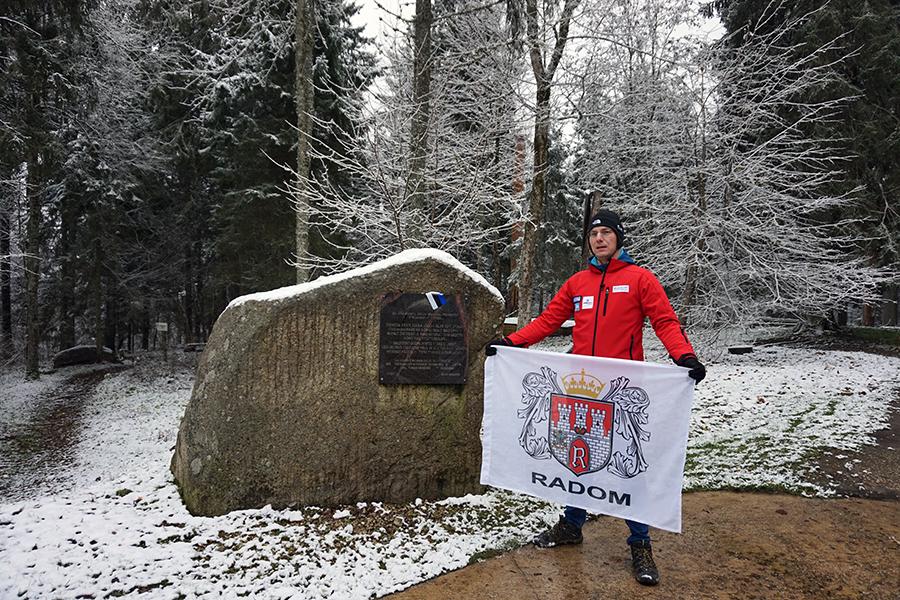 najwyższy szczyt Estonii, Suur Munamägi - 318 m n.p.m.