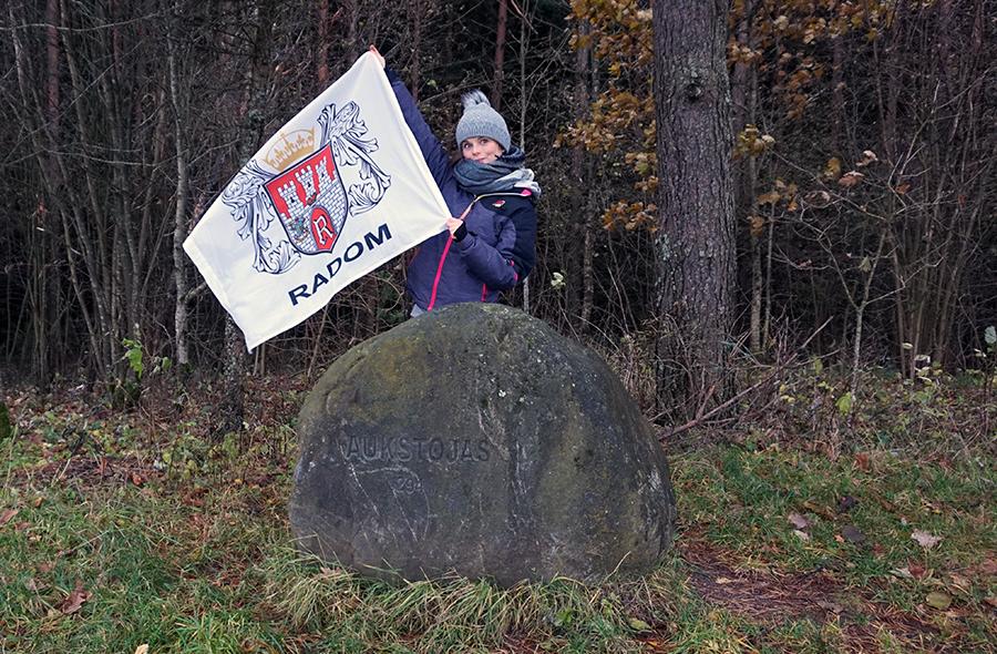 najwyższy szczyt Litwy, Wysoka Góra 294 m n.p.m.