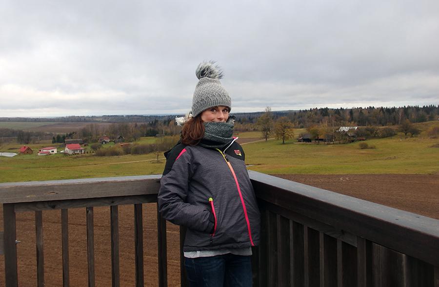 najwyższy szczyt Litwy, Wysoka Góra 294 m n.p.m. (wieża widokowa)