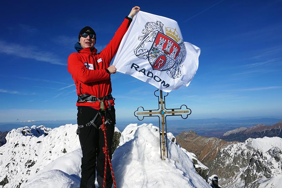 najwyższy szczyt Słowacji Gerlach 2655 m n.p.m.