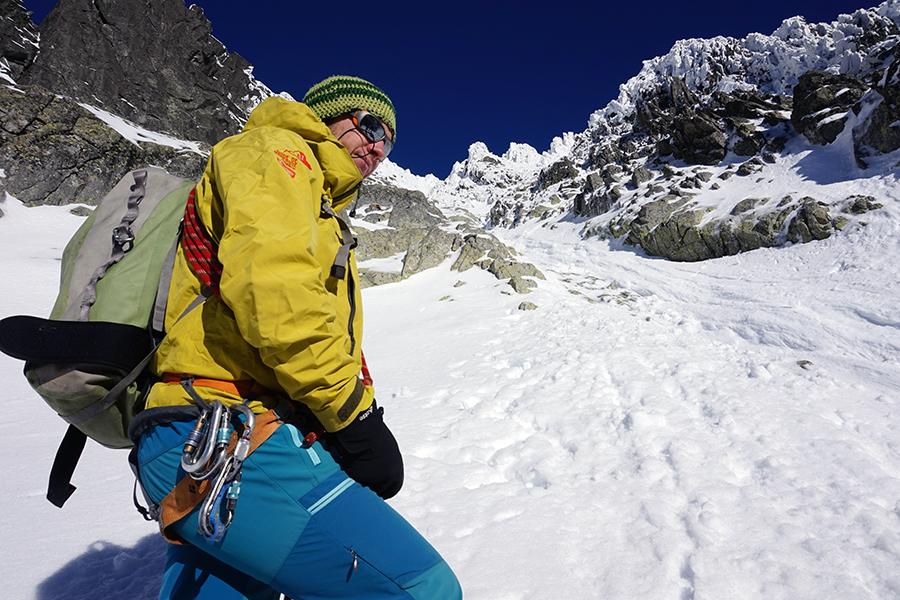 w drodze na najwyższy szczyt Słowacji, Michał Sekelsky