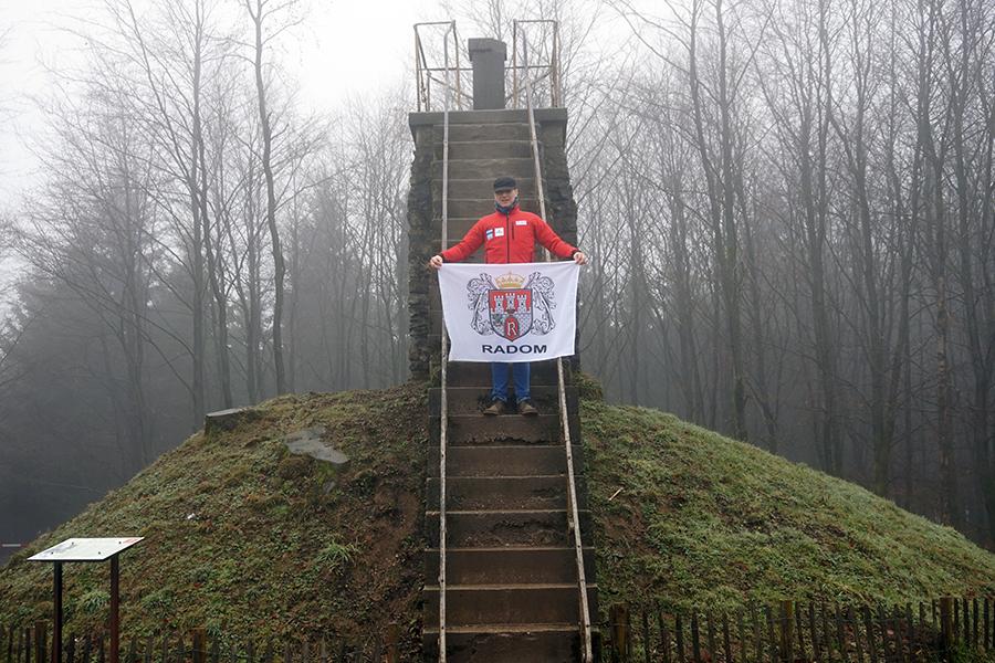 najwyższy szczyt Belgii – Signal de Botrange, 694 m n.p.m.
