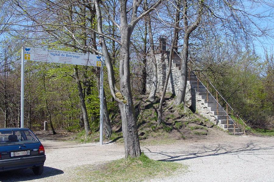najwyższy szczyt Belgii – Signal de Botrange, 694 m n.p.m. (zdjęcie z serwisu wikipedia, na zdjęciu są jeszcze nie wycięte obecnie drzewa)