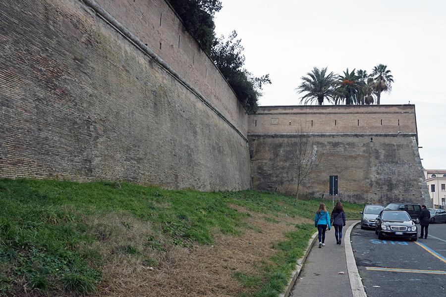 Mury Watykańskie.