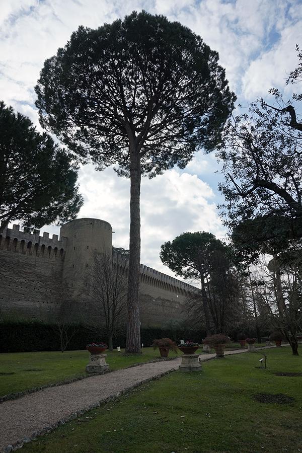 Ogrody Watykańskie. Leonine Walls.