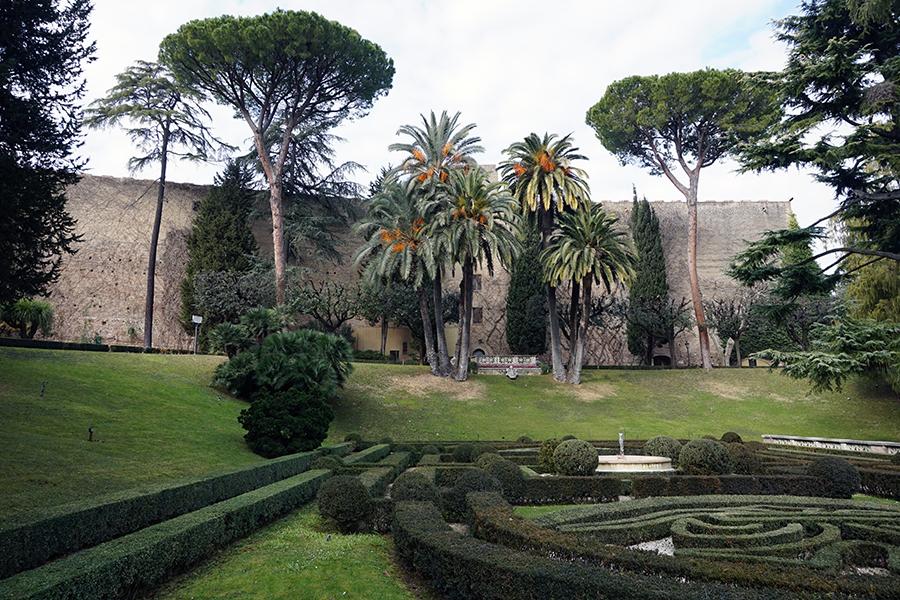 Ogrody Watykańskie. Ogród Włoski.