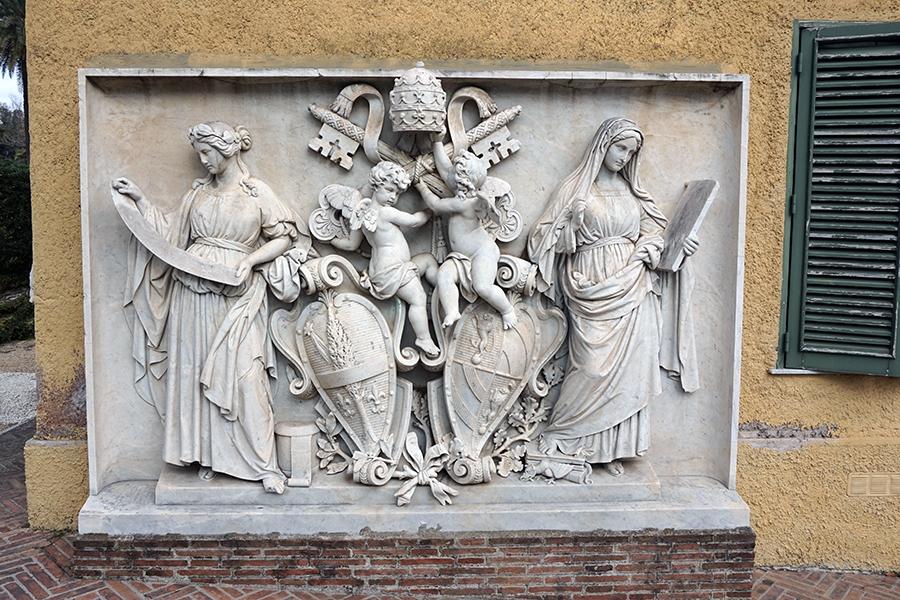 Ogrody Watykańskie.