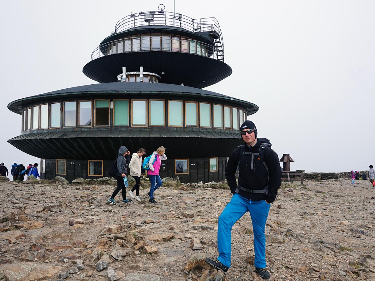 najwyższy szczyt Czech - Śnieżka 1602 metry n.p.m.