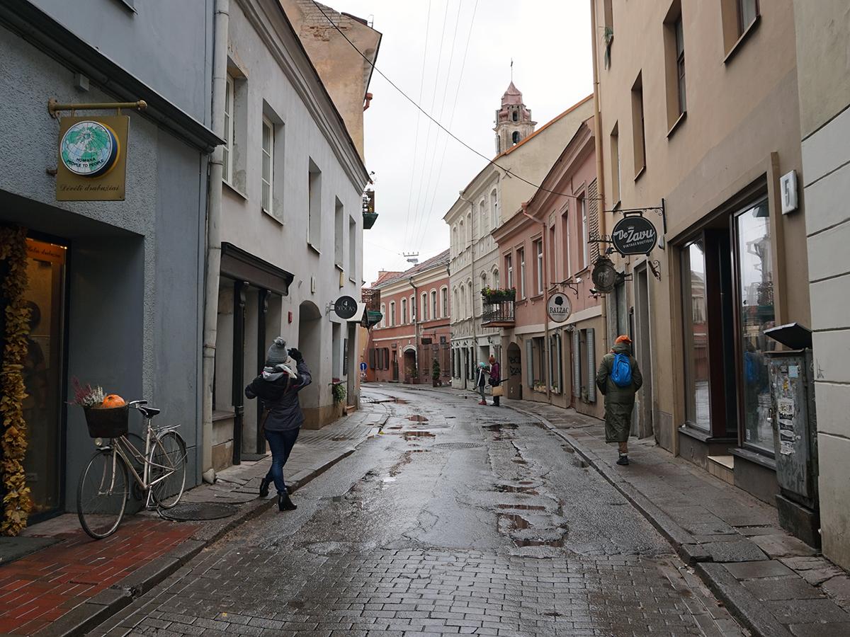 uliczki Wilna