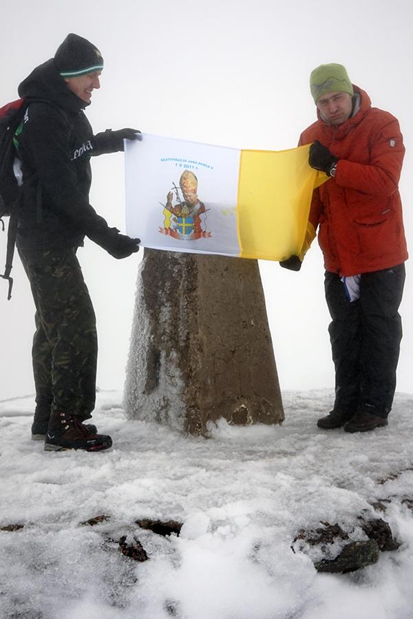 Ben Nevis, najwyższy szczyt Szkocji i Wielkiej Brytanii. Wysokość szczytu to 1344 m n.p.m. na szczycie Damian i Karol