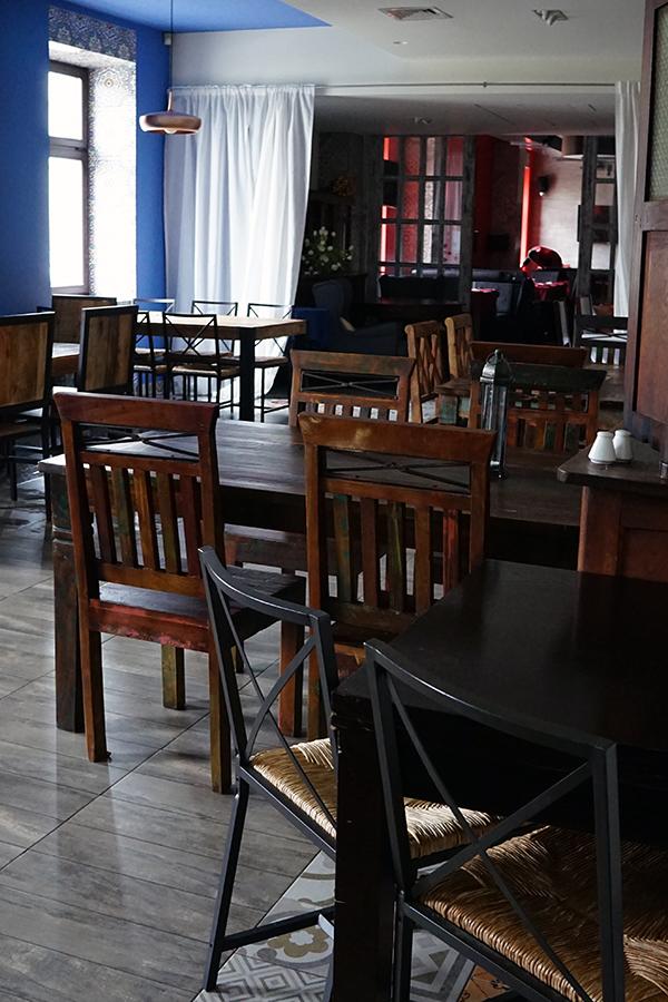 przytulne wnętrza, pozytywna atmosfera, idealna kuchnia