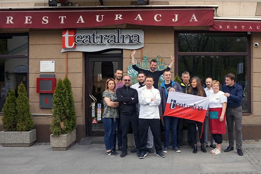 Restauracja Teatralna w Radomiu. Pasja = Cel !