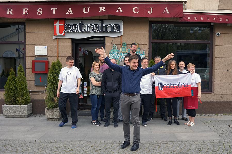 Restauracja Teatralna w Radomiu. Taką wielką pasję działania mamy !