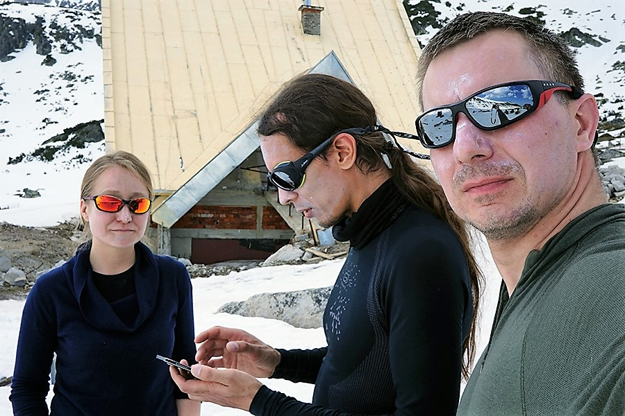 ekipa atakująca: Beata Kapusta, Norbert Cias, Dawid Penkalla