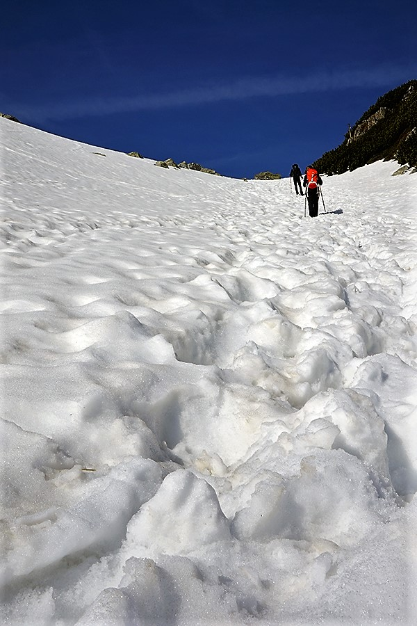 droga na szczyt, pierwsze przewyższenie