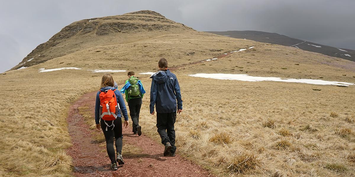 marsz w stronę szczytu