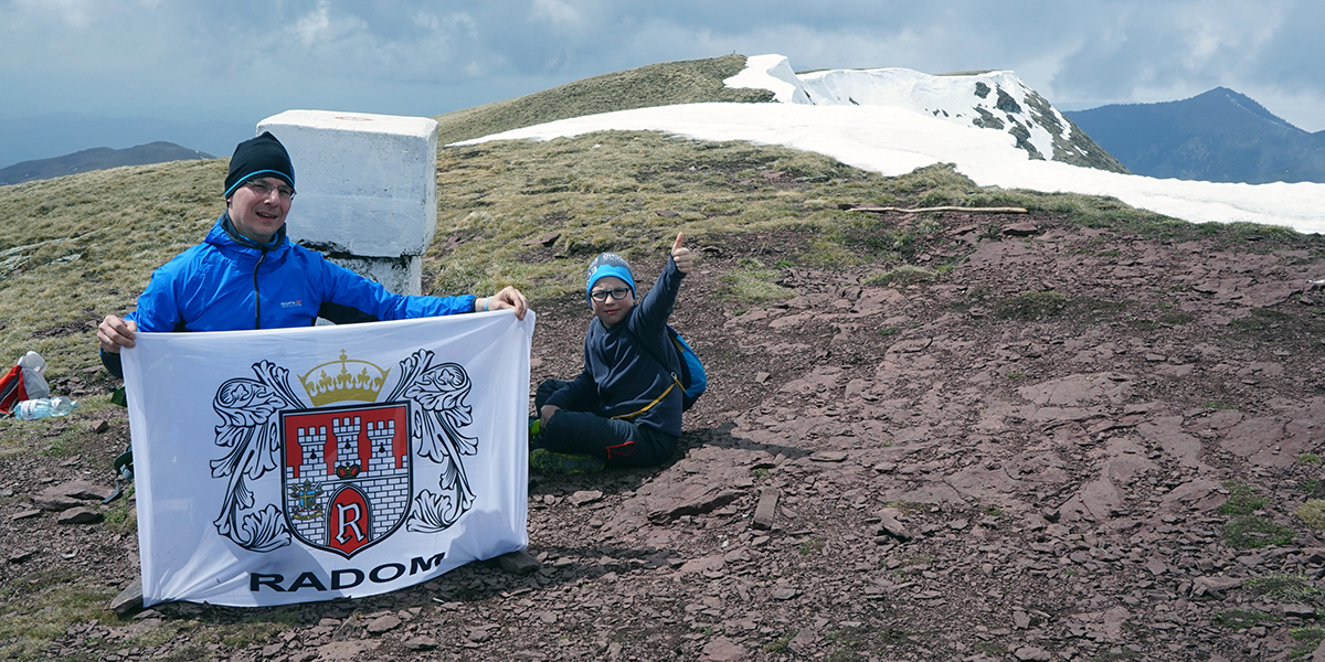 najwyższy szczyt Serbii - Midżur 2169 m n.p.m.