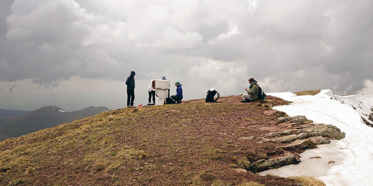 najwyższy szczyt Serbii - Midżur 2169 m n.p.m. zdobyty