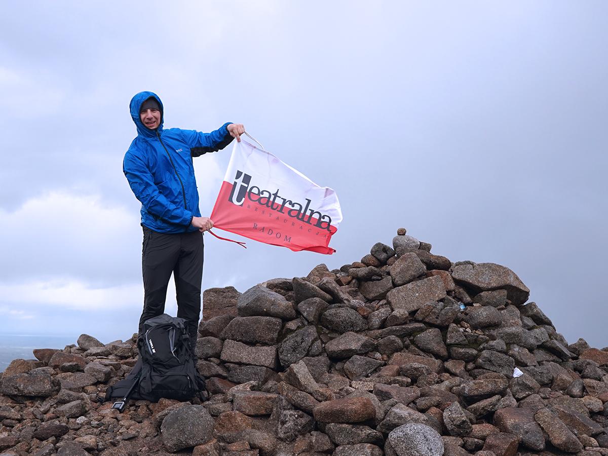 najwyższy szczyt Irlandii Północnej, Slieve Donard - 849 m n.p.m., Restauracja Teatralna Radom
