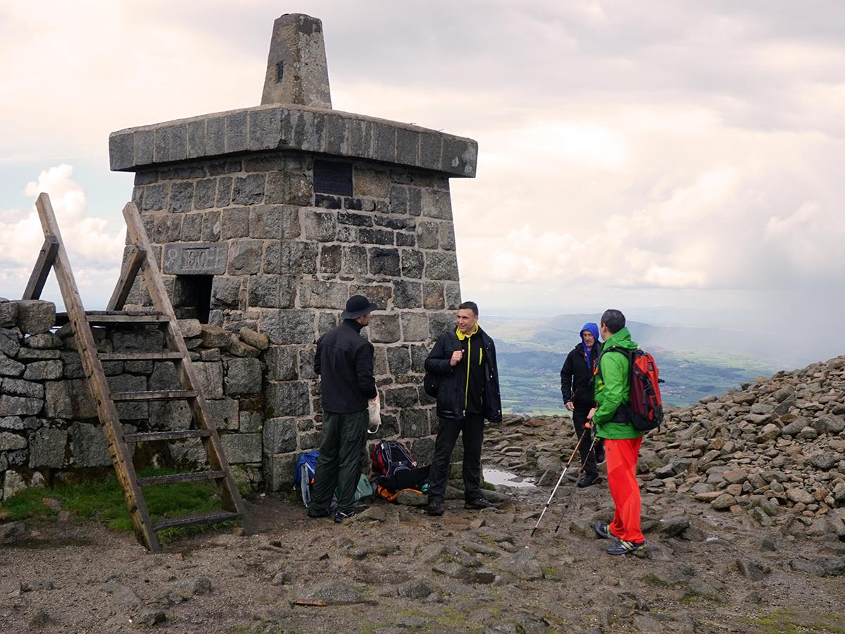 najwyższy szczyt Irlandii Północnej, Slieve Donard - 849 m n.p.m.