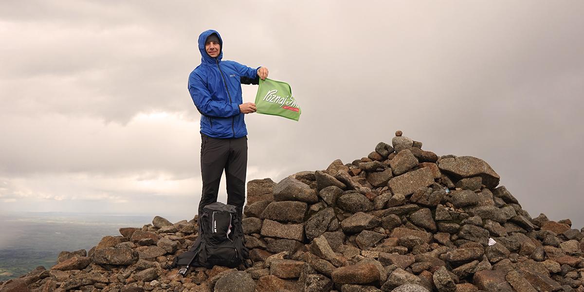 najwyższy szczyt Irlandii Północnej, Slieve Donard - 849 m n.p.m., Poznaj Świat