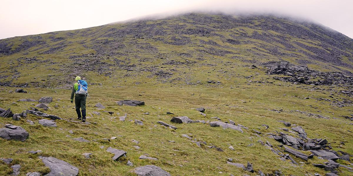 atak szczytowy na Carrantuohill