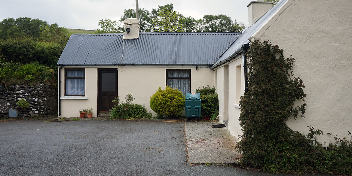Cronins Yard, miejsce startu na Carrantuohill