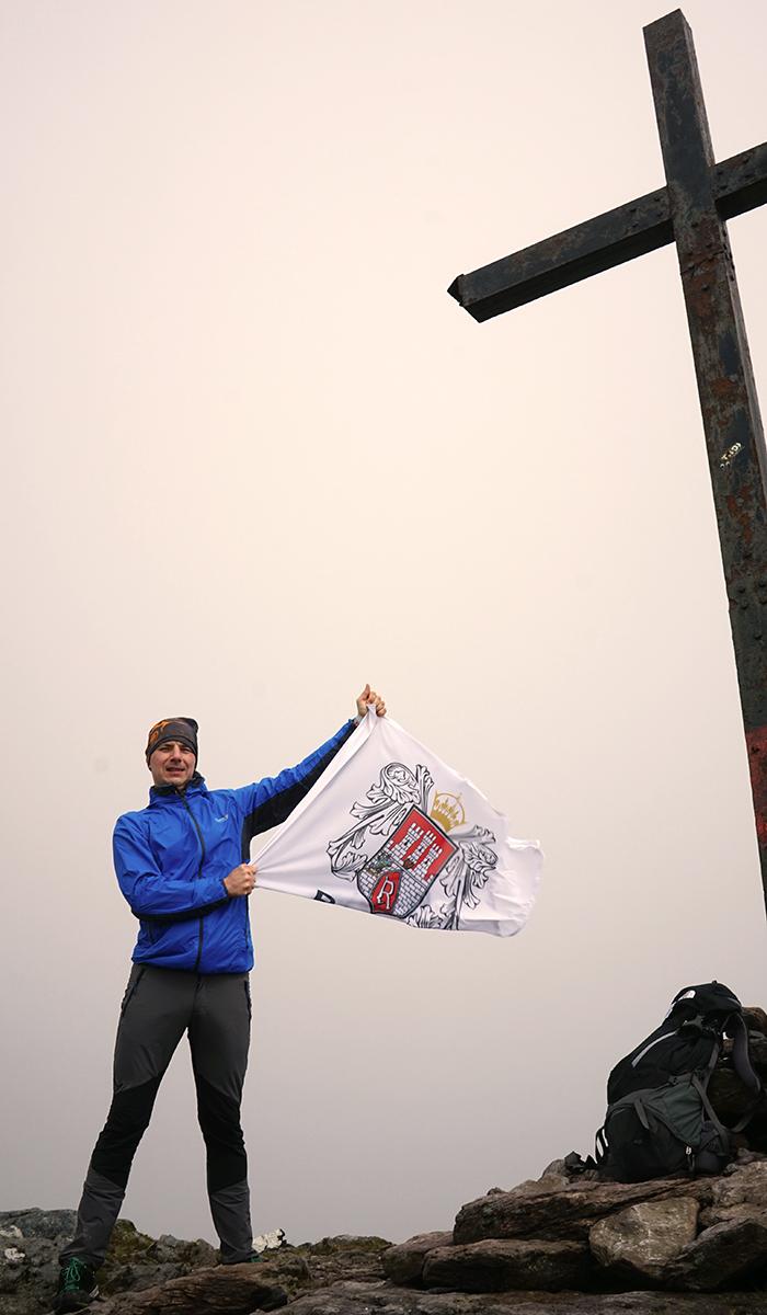 Carrantuohill 1038 m n.p.m., najwyższy szczyt Irlandii