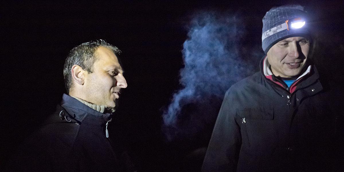 Sebastian i Darek, nocne rozmowy (zd. Jurek Giertuga)