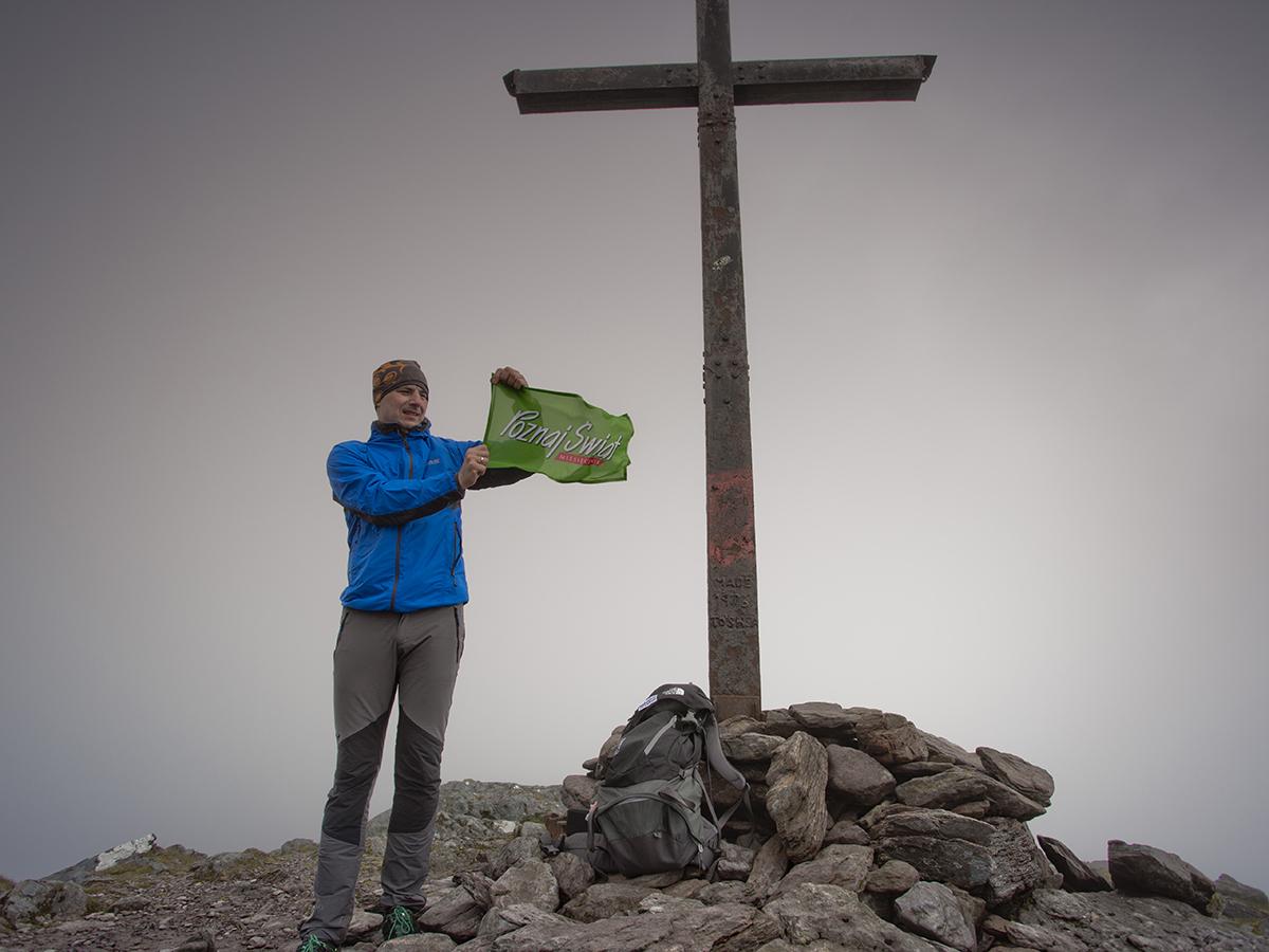 Poznaj Świat na Carrantuohill 1038 m n.p.m., najwyższym szczycie Irlandii (zd. Jurek Giertuga)