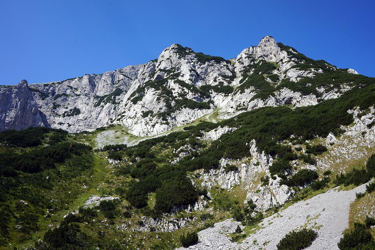 Maglić 2386 m n.p.m.