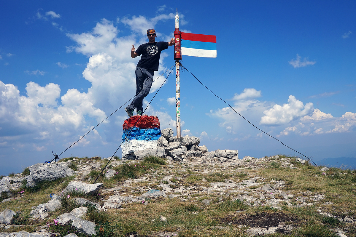 Maglić 2386 m n.p.m., najwyższa góra Bośni i Hercegowiny