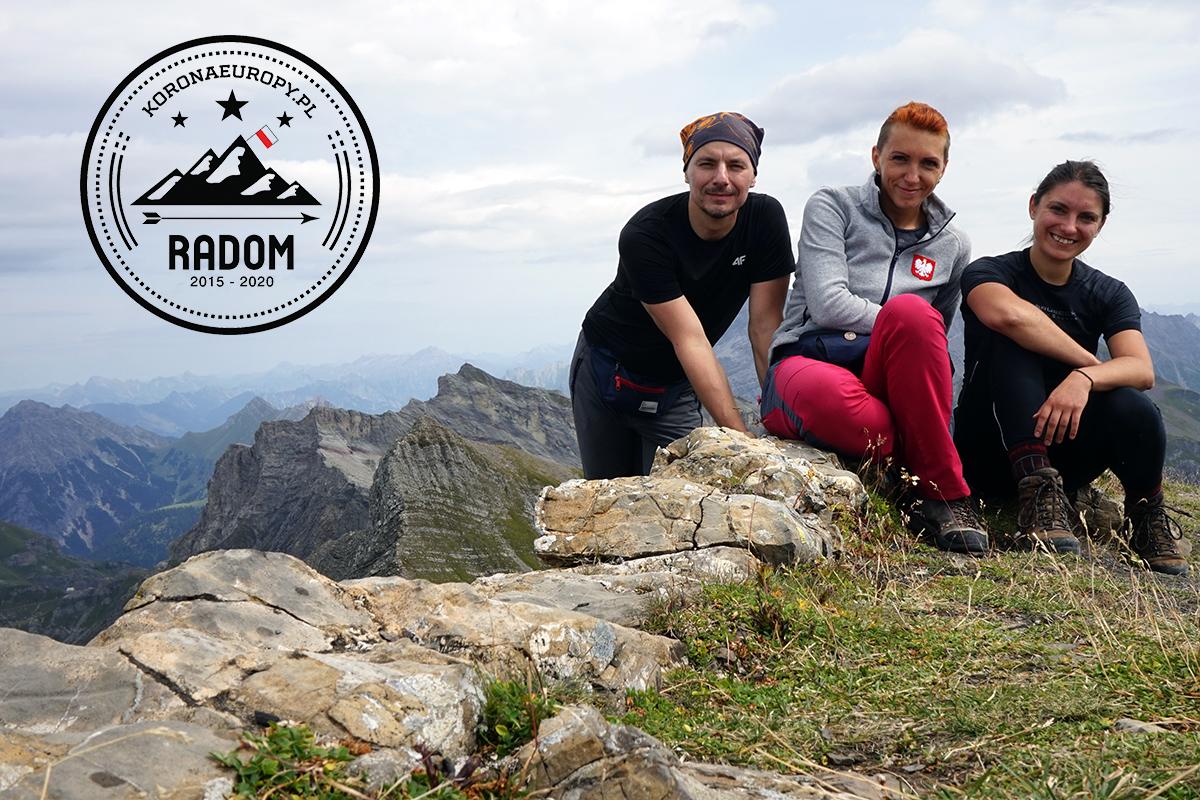najwyższy szczyt Liechtensteinu - Grauspitz 2599 m n.p.m.