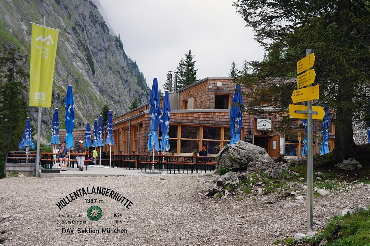 schronisko Höllentalangerhütte