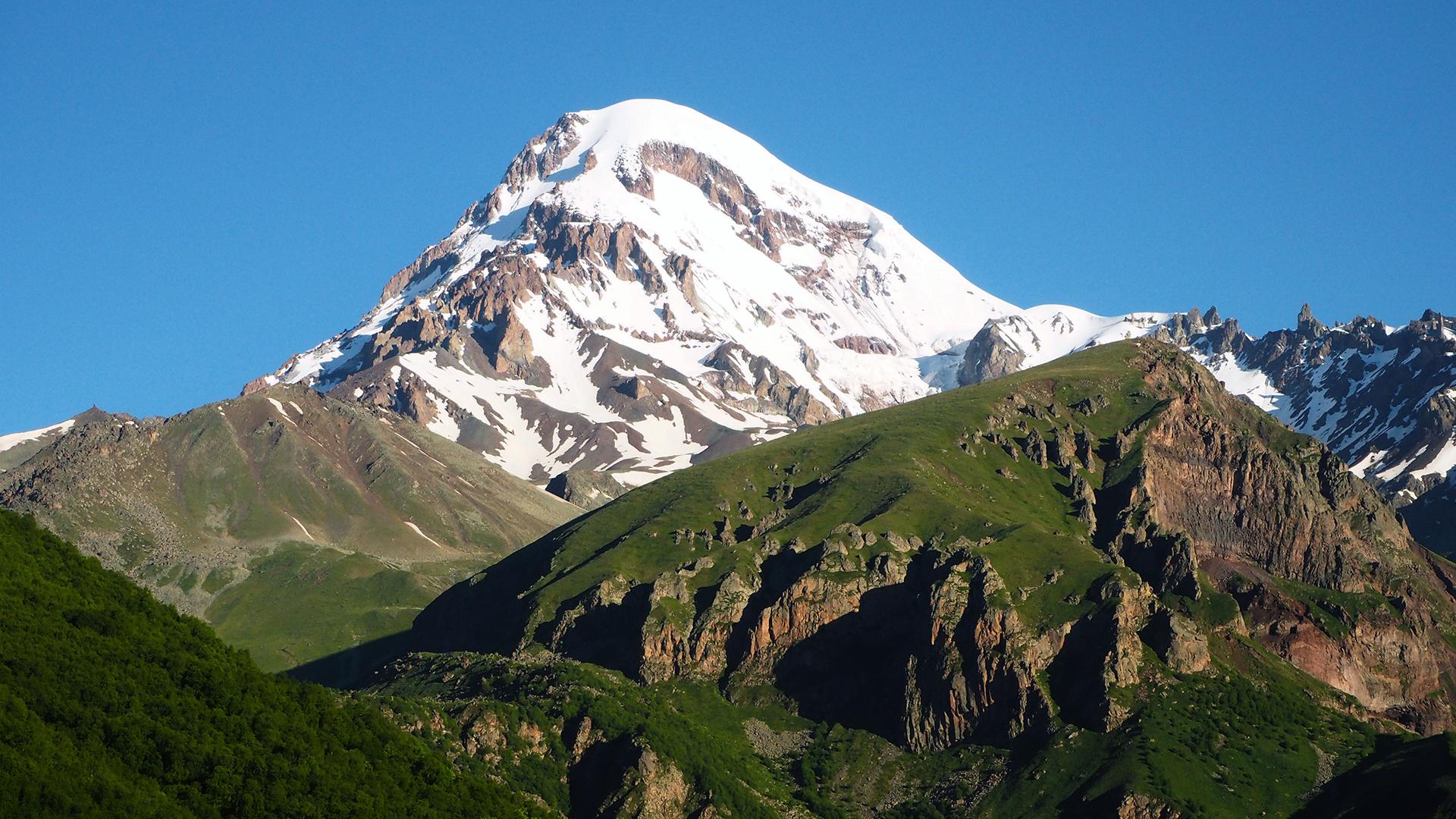 Kazbek 5047 m n.p.m.