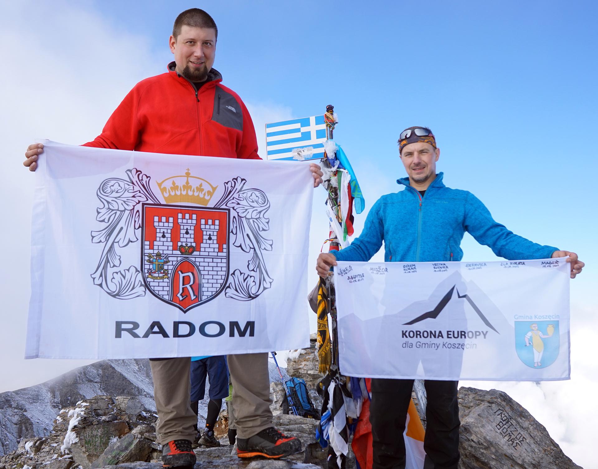 Korona Europy dla Gminy Koszęcin oraz Korona Europy dla miasta Radomia